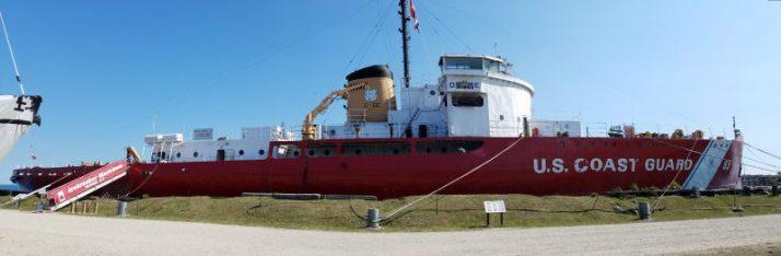 Icebreaker Mackinaw Maritime Museum in Mackinaw City