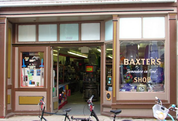 Baxters Coin Shop on Mackinac