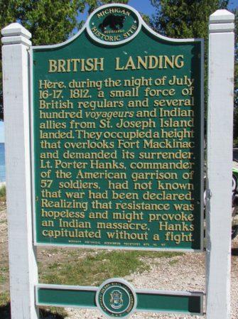 British Landing Marker