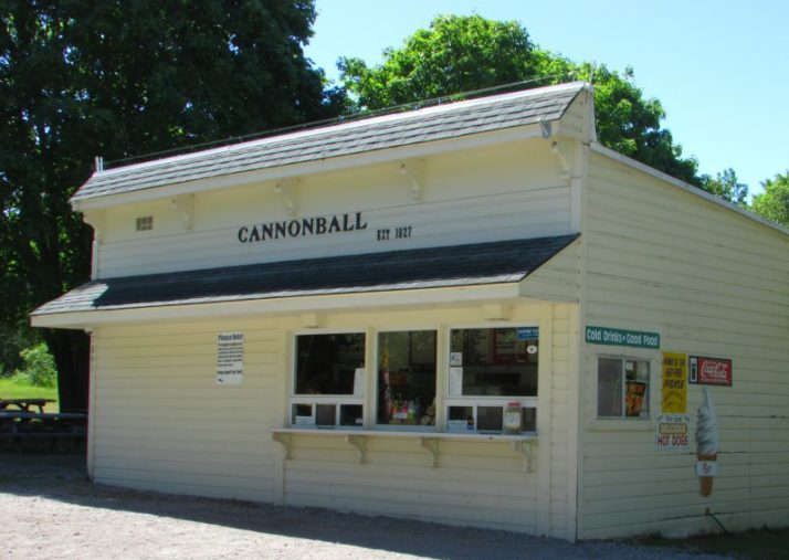 Cannonball food on Mackinac Island