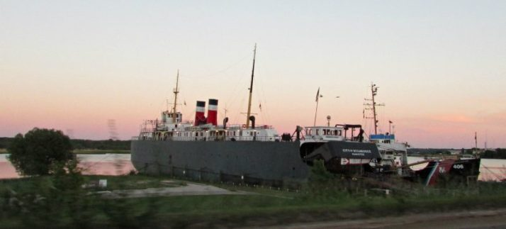 City of Milwaukee ship in Manistee