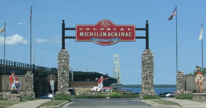 Colonial Michilimackinac in Mackinaw City