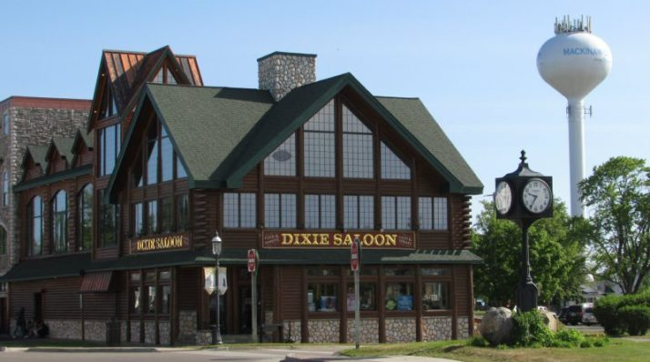 Dixie Saloon in Mackinaw City
