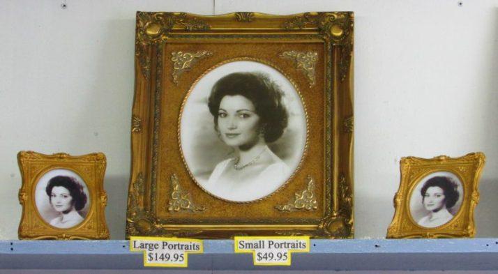 Elise McKenna portrait in Baxter's Coin Shop