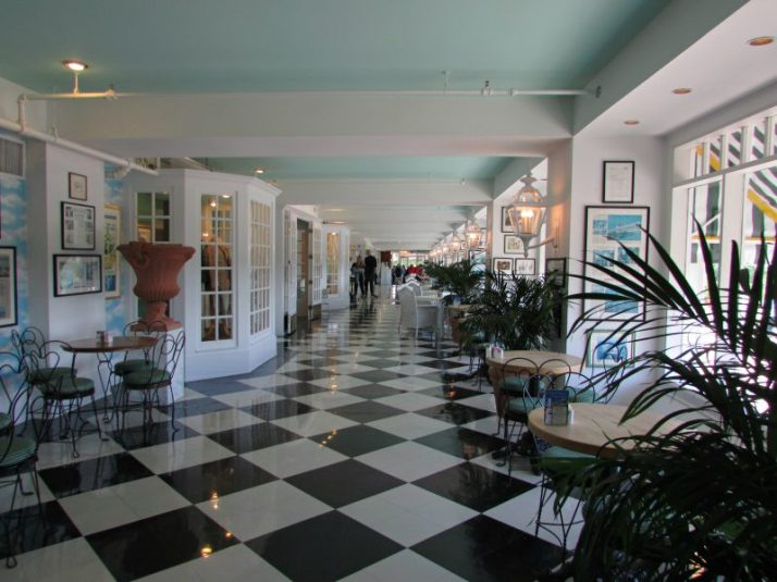 Grand Hotel lower level shops