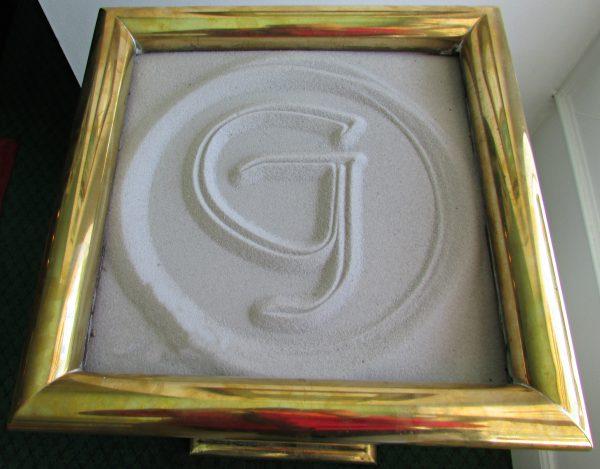 Grand Hotel Sand Art