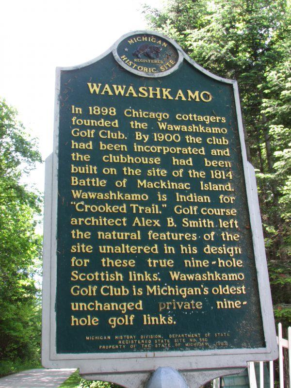 Wawashkamo Golf Course on Battleground