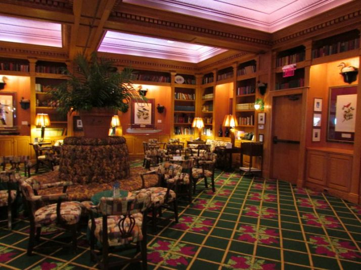 Inside Audubon Bar at Grand Hotel