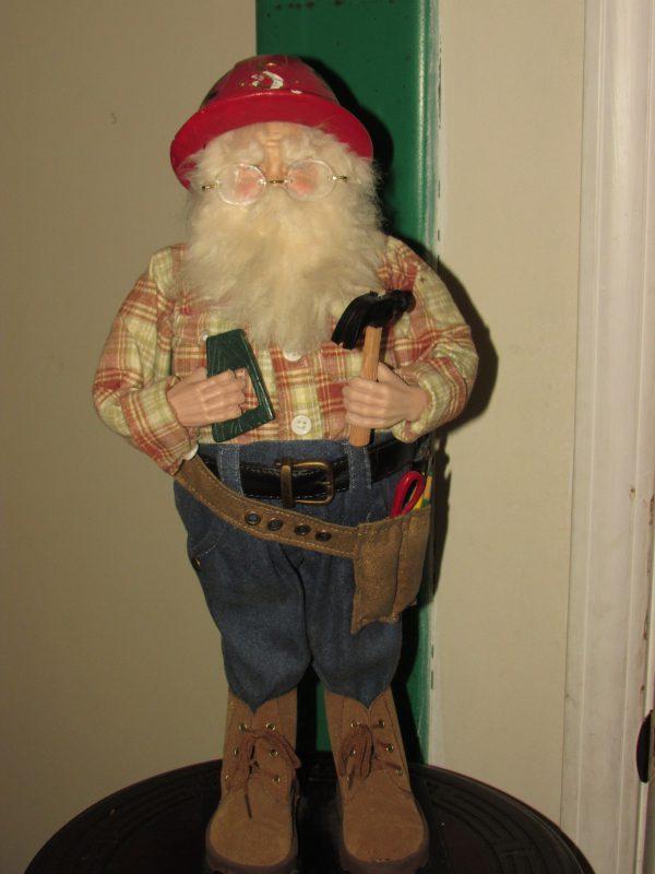 Ironworker Santa