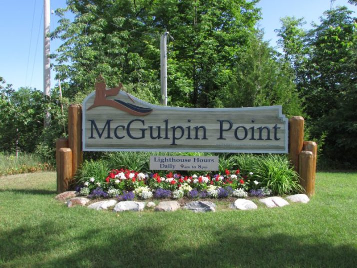 McGulpin Point sign