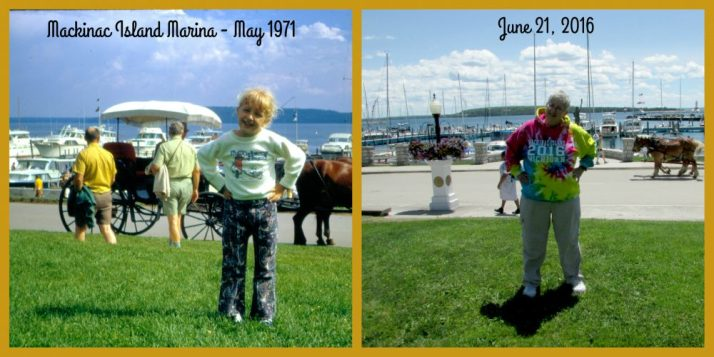 Laurie 1971 and 2016 Marquette Park