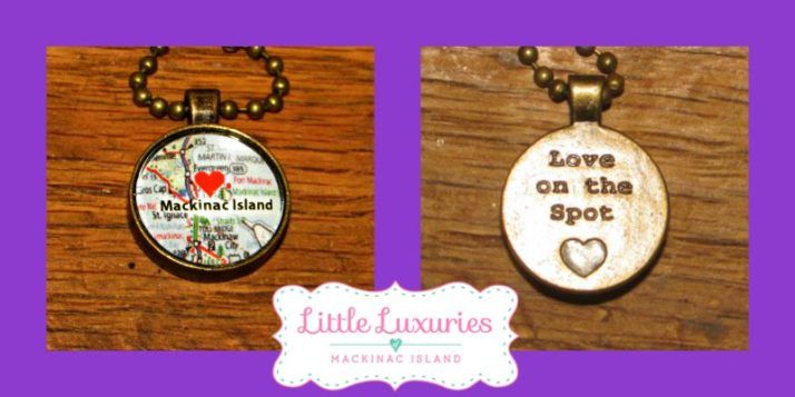 Little Luxuries Mackinac Island necklace