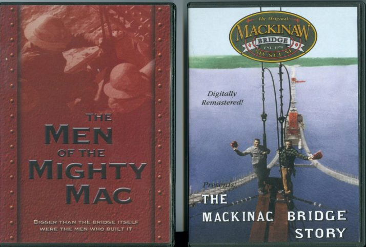 Mac Bridge videos at Mackinac Bridge Museum
