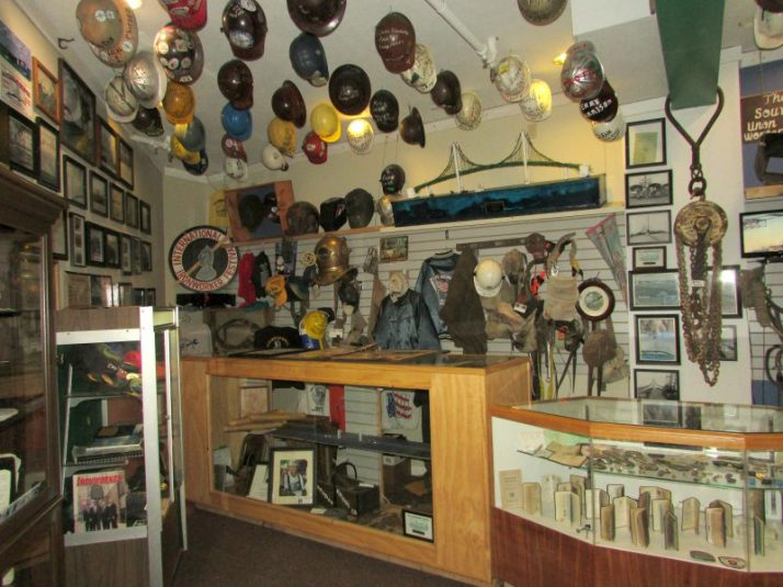 Mackinac Bridge Museum Exhibit Room