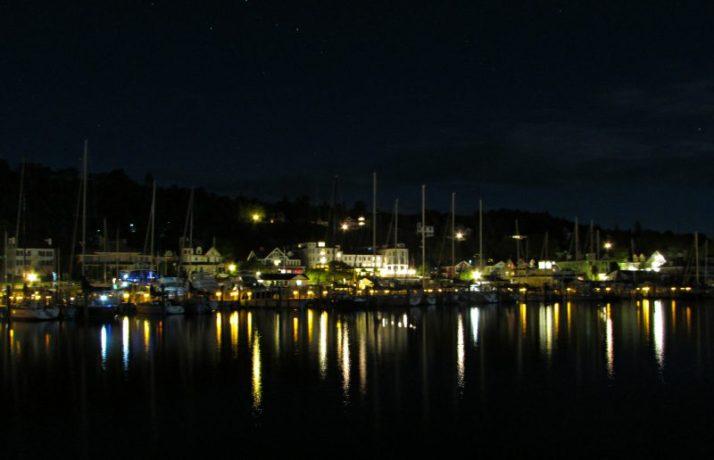 Mackinac Island Harbor Lights 6-22-16