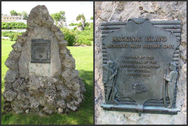 Mackinac Island Rock Most Historic spot