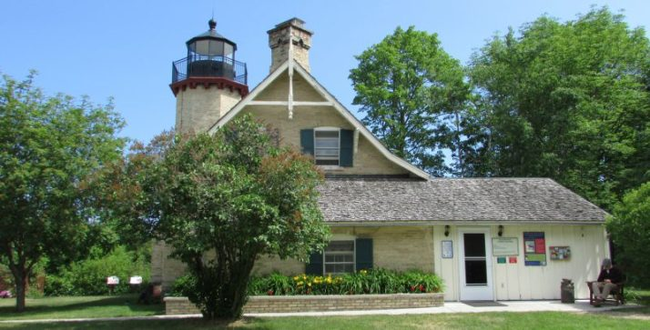 McGulpin Point Light House in Mackinaw City