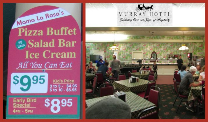 Murray Hotel Pizza Buffet