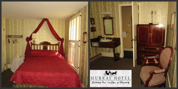 Murray Hotel room logo