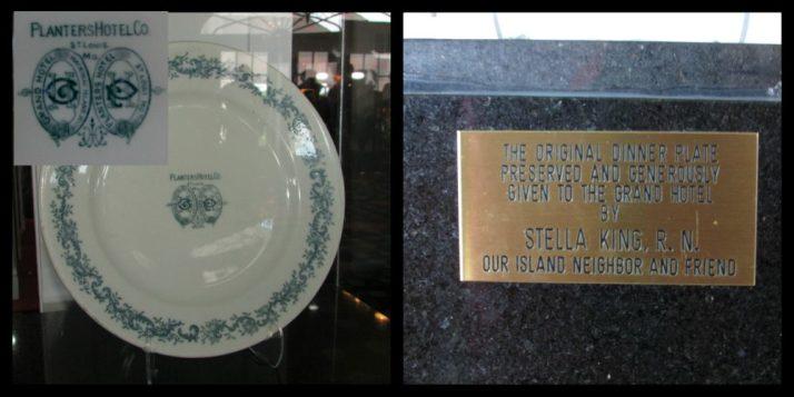 Original Grand Hotel Plate