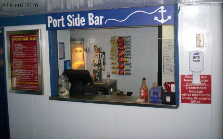 Port Side Bar on Badger