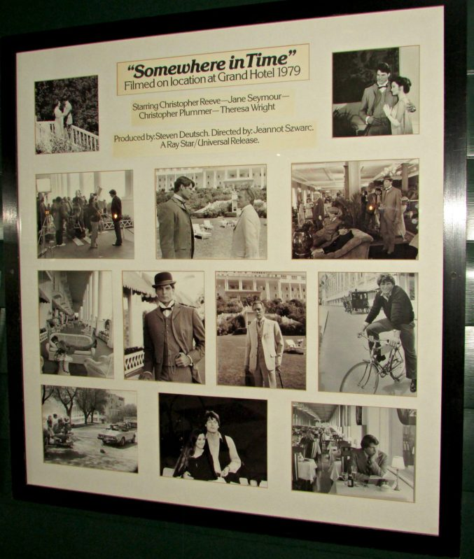 Somewhere in Time Collage at Grand Hotel