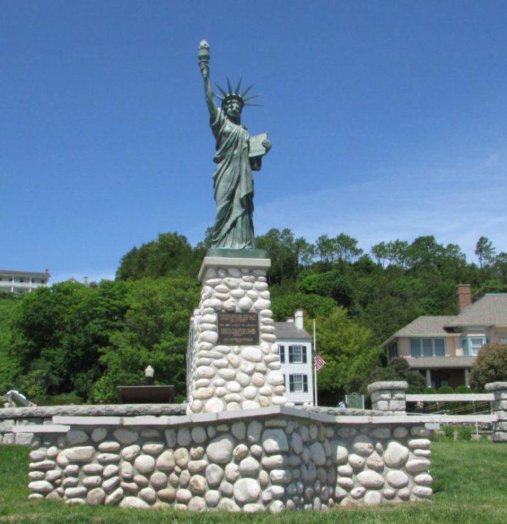 Statue of Liberty on Mackinac Island
