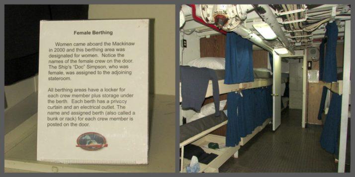 Berthing Quarters on Icebreaker