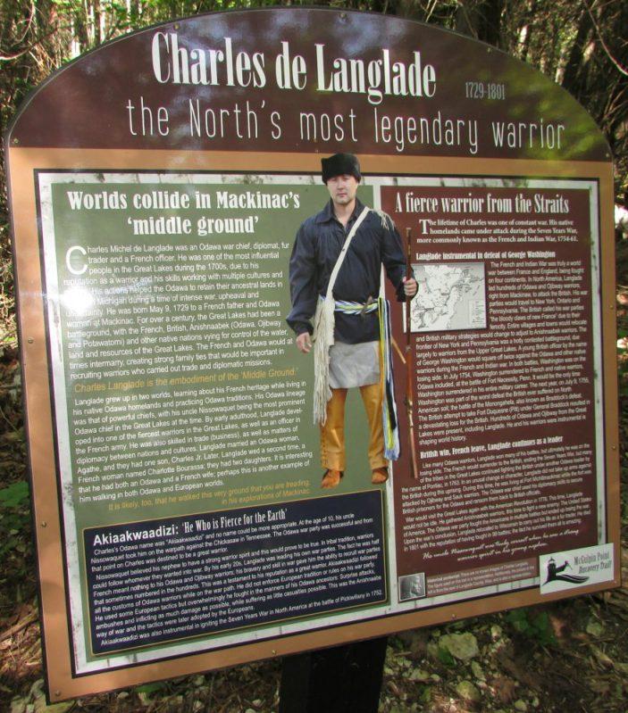 Charles de Langlade sign