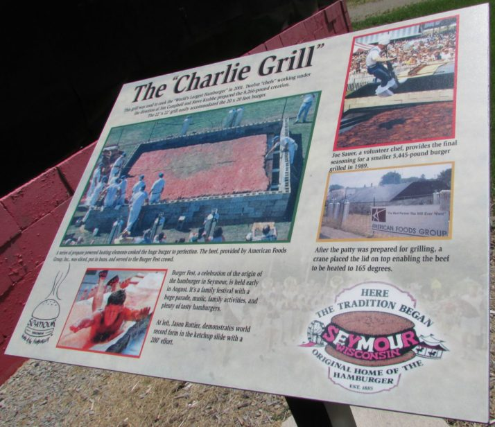 Charlie Grill sign