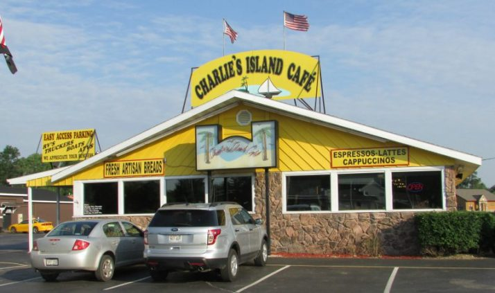 Charlie's Island Cafe in Crivitz
