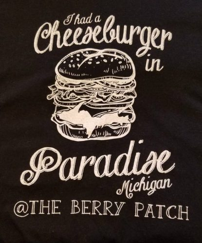 Cheeseburger in Paradise shirt