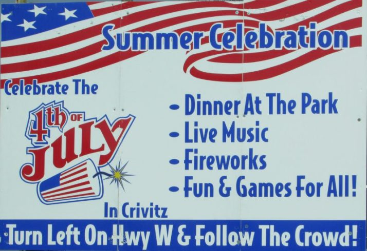 Crivitz July 4th celebration