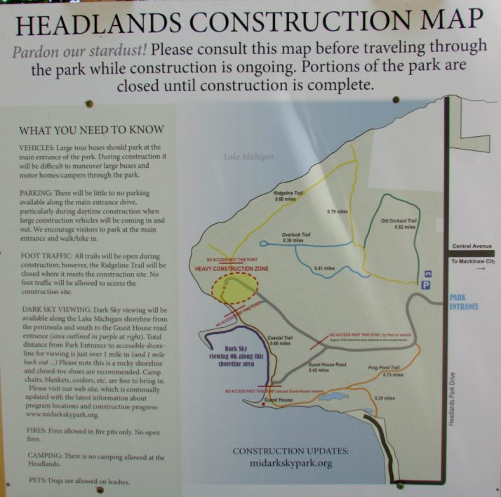 Headlands map