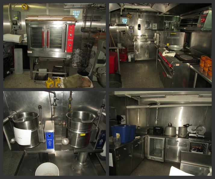 Icebreaker Galley inside
