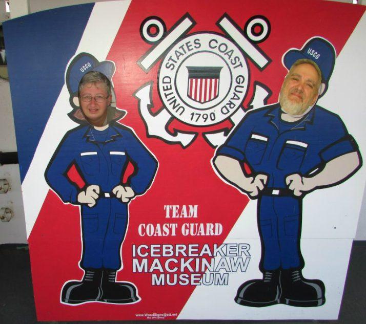 Icebreaker Mackinac Museum selfie 2 IMG_2111