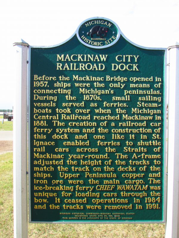 Railroad Dock marker