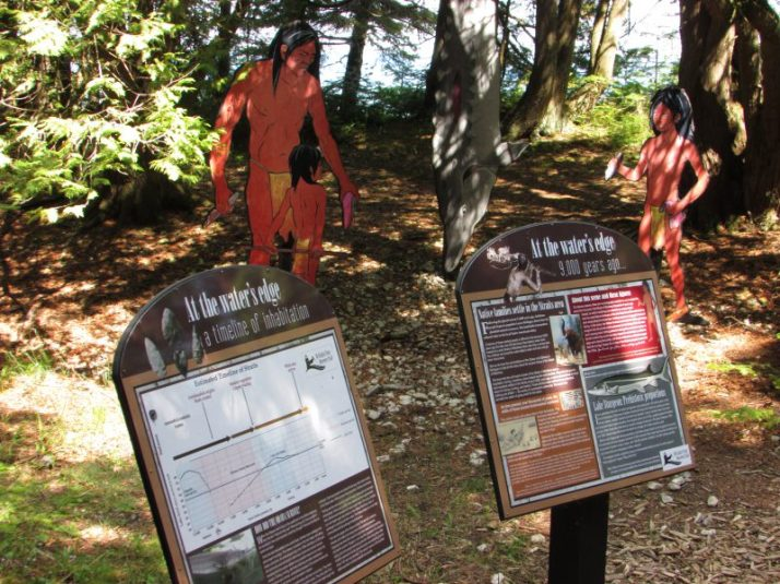 Native Americans at McGulpin  9000 years ago