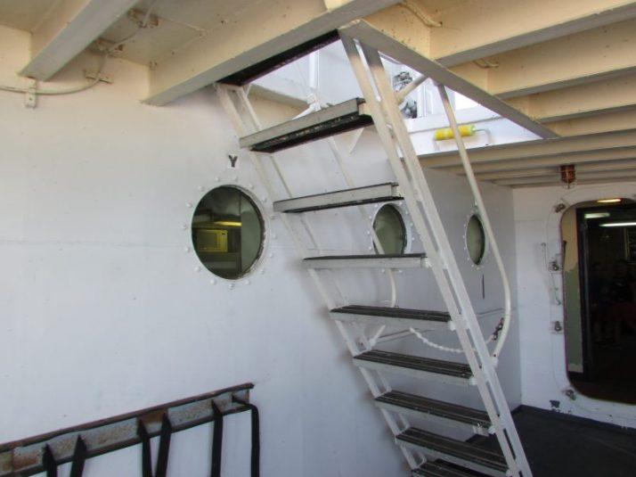 Stairway on Icebreaker