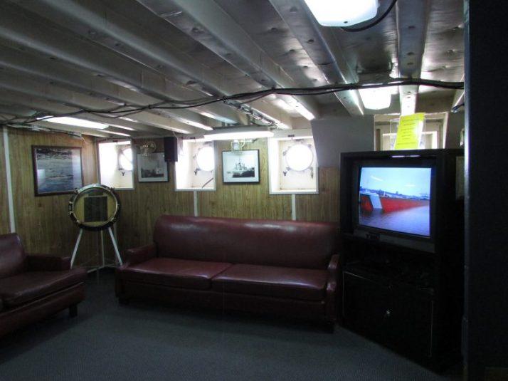 Icebreaker orientation and video
