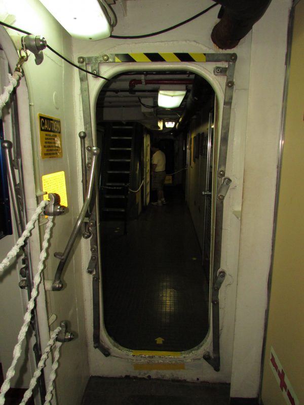 Door on Icebreaker