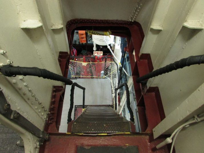 Stairway to Engine Room