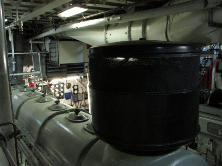 Engine Room of Icebreaker