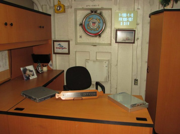 Executive Officer office on Icebreaker