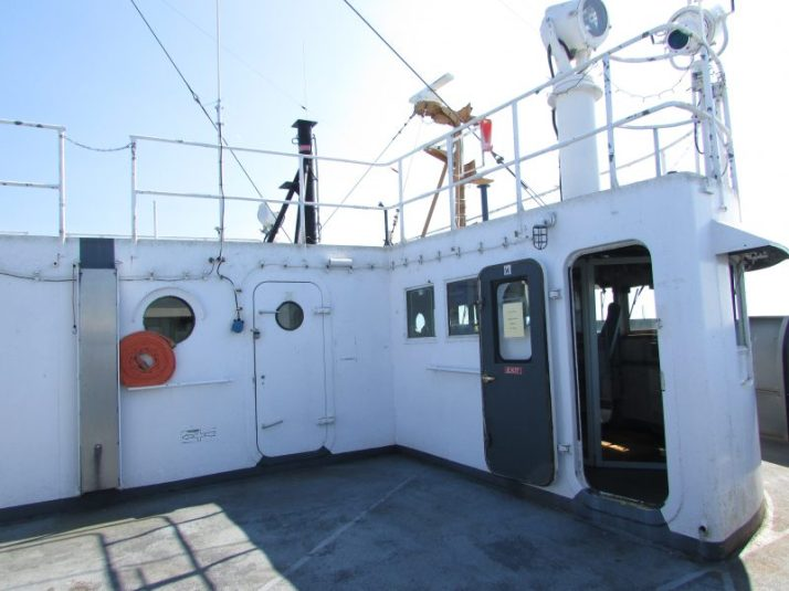 Pilot House on Icebreaker