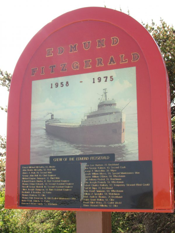 Dedication to Edmund Fitzgerald