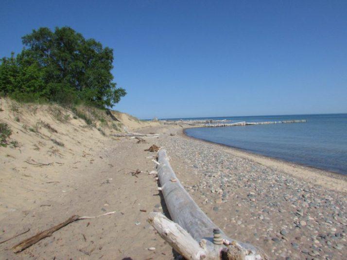 Lake Superior Shoreline at Shipwreck Museum