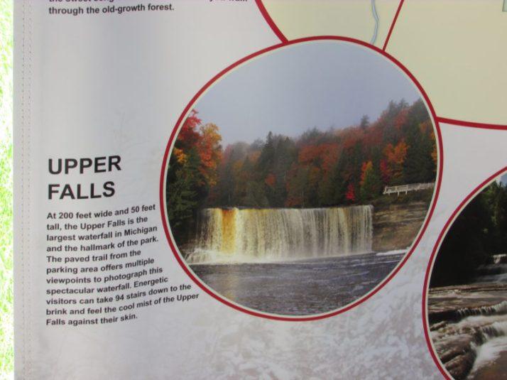 Upper Teq Falls info