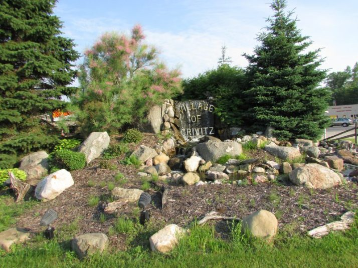 Village of Crivitz landscaping