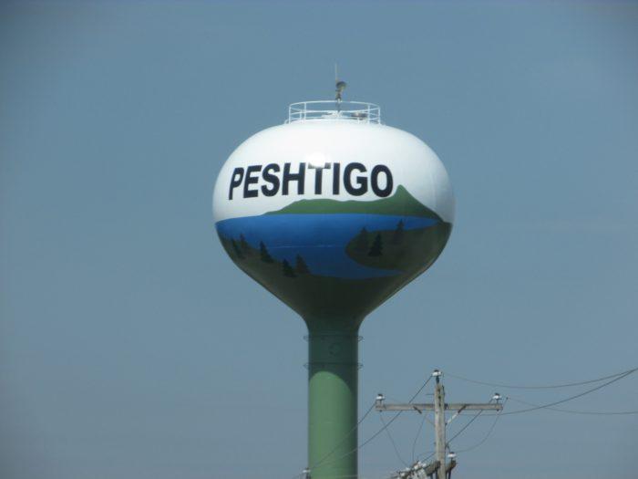 Peshtigo water tower